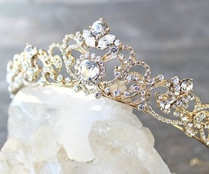 crown, crystals, and diamonds image