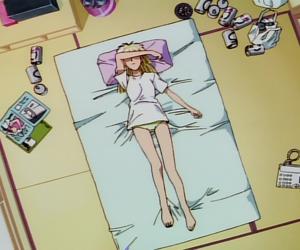 anime girl, screen capture, and anime gif image