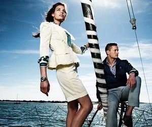 couple, luxury, and nautical image
