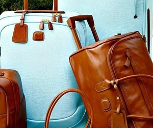 classy, luggage, and luxury image