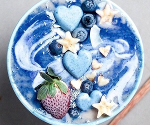 blue, food, and healthy image