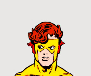 dc comics, wally west, and kid flash image