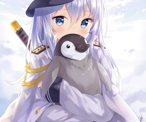 anime girl, sailor, and art image
