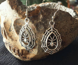 etsy, spiders, and witchy image