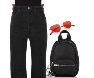 backpack, black, and body image