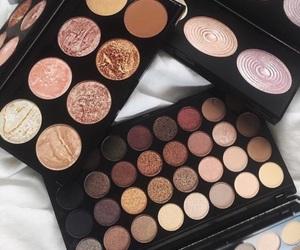 makeup, vogue, and shine image