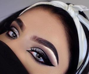 beauty, blush, and eyeliner image