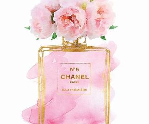acuarela, flores, and rosa image