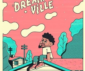 j cole, art, and dreamville image
