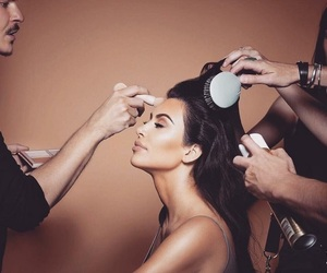 getting ready, goals, and kim kardashian image