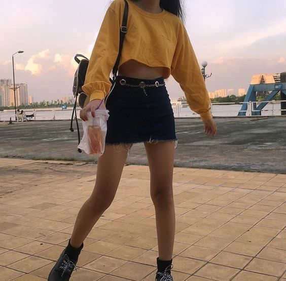 Image de fashion, yellow, and style