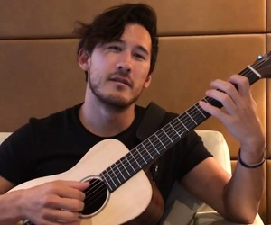 guitar, markiplier, and mark fischbach image