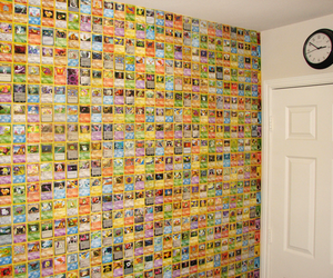 pokemon, wall, and cards image