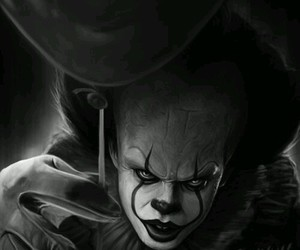 clown, movie, and pennywise image