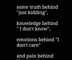quotes, truth, and sad image