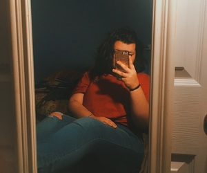 body positive, fat, and iphone image