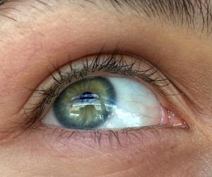 blue, brow, and eye image