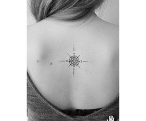 compass tattoos cute image