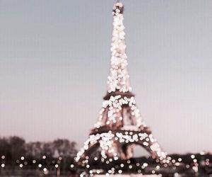 paris, light, and france image