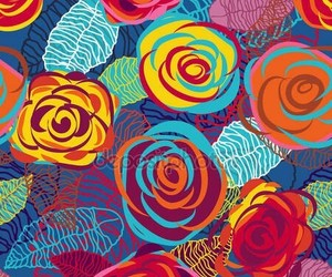 colorful, colors, and florals image