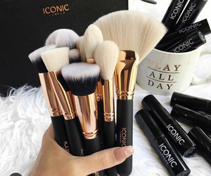 Brushes, beauty, and fashion image