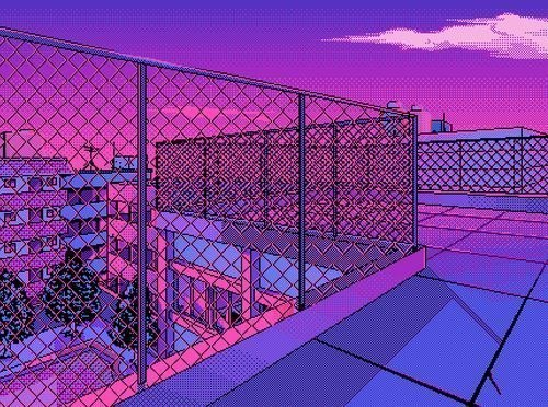 pixel, purple, and pink image
