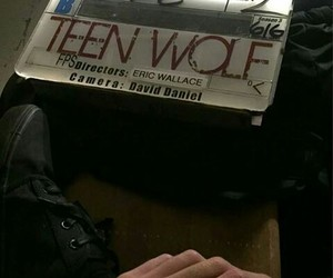 behind the scene and teen wolf image