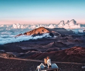 travel, couple, and adventure image