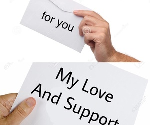 support and love image