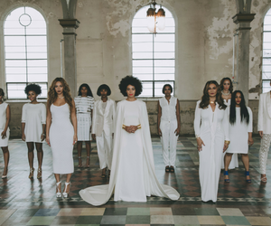 sisters, solange knowles, and beyoncé image