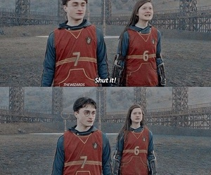 harry and ginny, harry potter, and hp image