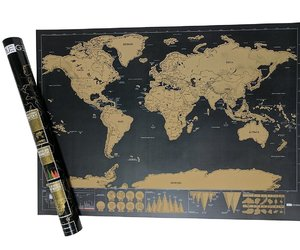 world map for office, office use scratch map, and educational world map image