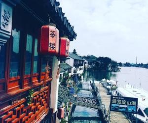 china, shanghai, and traveling image
