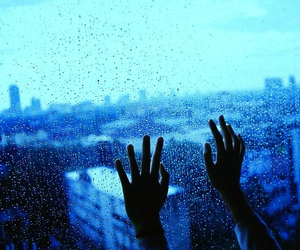 aesthetic, drops, and window image