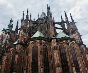 castle, jesus, and prague image