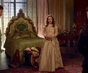 bedroom, love triangle, and reign image