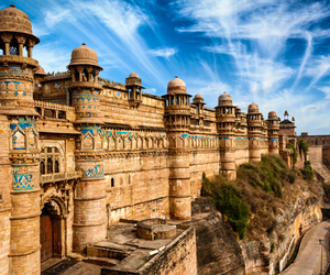 forts, india, and tourism image