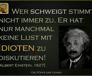 deutsch, einstein, and funny image