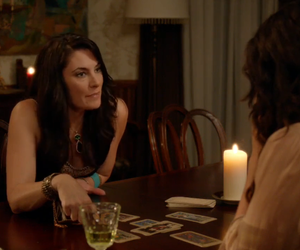 cards, Madchen Amick, and tarot image