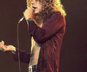 led zeppelin, 70s, and robert plant image