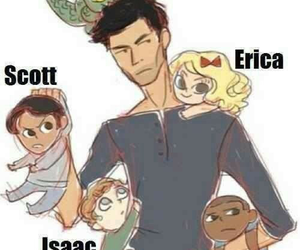 teen wolf, boyd, and erica image