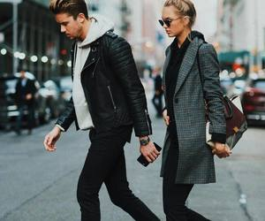 fashion, romee strijd, and couple image
