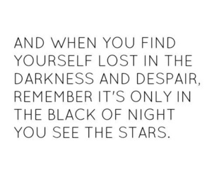 quote, one tree hill, and stars image