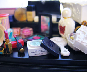 barbie, makeup, and miniature image