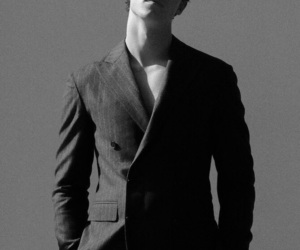 art, shawn mendes, and black and white image