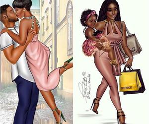 goals, work hard, and black love image