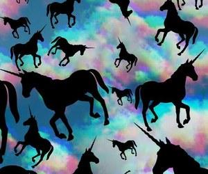 unicorn, tumblr, and wallpaper image