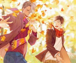 autumn, yuri on ice, and vikturi image