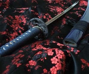 japan and katana image