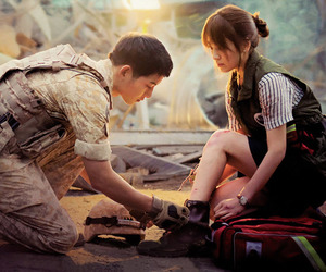 song joong ki, descendants of the sun, and korean image